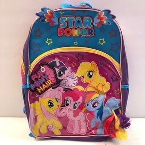 MLP My Little Pony Backpack NWT